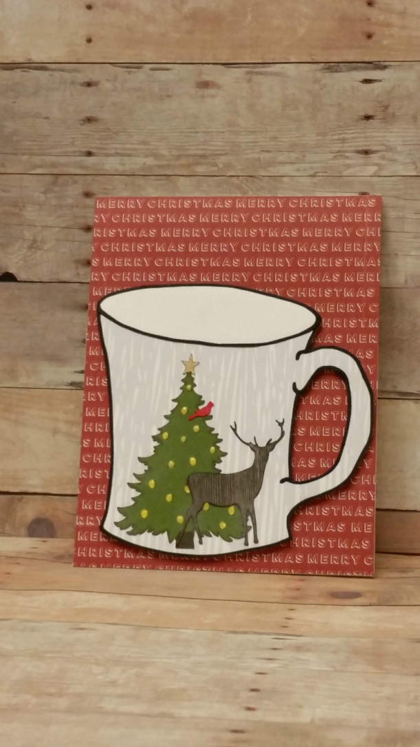 A Natural Christmas Digital Cut File