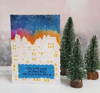 christmas card blog