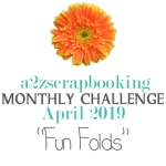 a2z scrapbooking april challenge