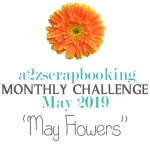a2z scrapbooking may challenge