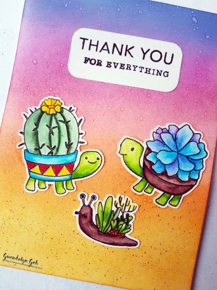 hero arts cactus friends cu insta