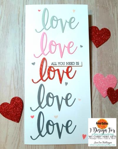Hero Arts Love Stamp N Cut