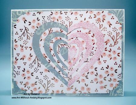 paperlayering heart a2z