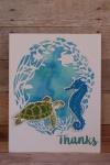 Hero Arts Reef Border Fancy Frame Die