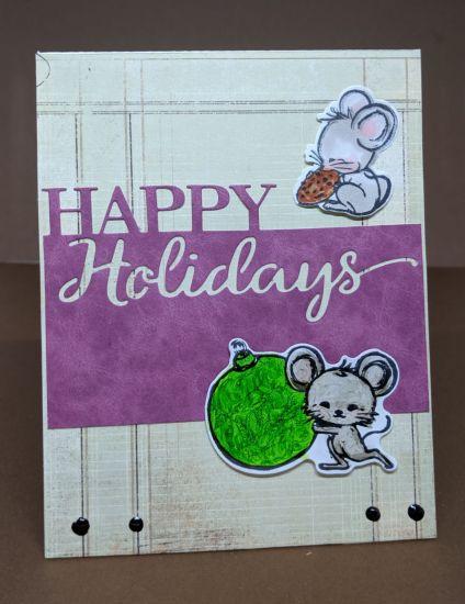 A2Z Christmas Mice