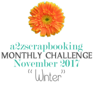a2z scrapbooking winter challenge