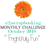 a2z scrapbooking october 2018 challenge