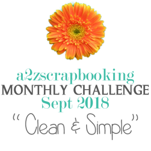 a2z scrapbooking challenge september 2018