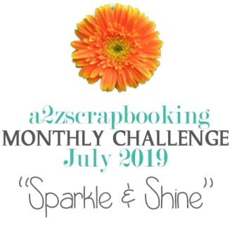 a2z scrapbooking july challenge